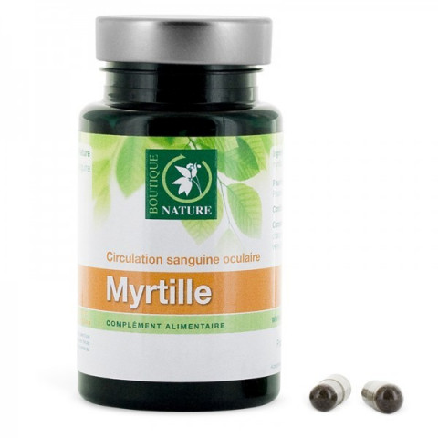 Myrtilles Bio 60 gel